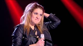 "Gabriela Pina - ""Highway To Hell"" AC/DC - The Voice Portugal - Provas Cegas - Season 2"