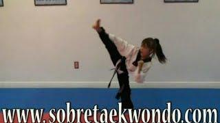 20 Ejercicios  básicos de Taekwondo para niños y jóvenes