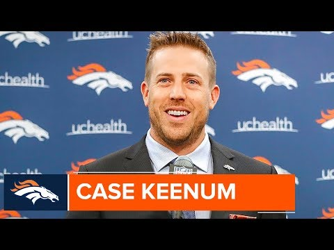 QB Case Keenum's introductory press conference