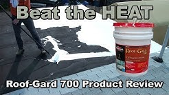 Roof Gard 700 elastometric coating review and application 5g bucket.