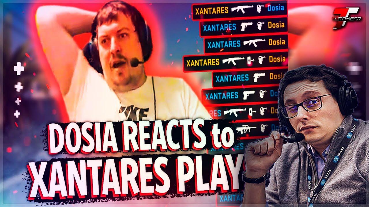 ZorlaK REACT: When XANTARES plays against Dosia in FPL