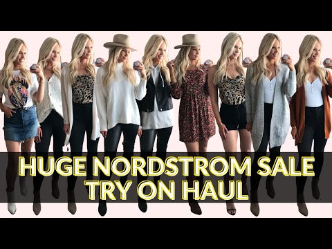 HUGE NORDSTROM ANNIVERSARY SALE TRY ON HAUL + GIVEAWAY!!