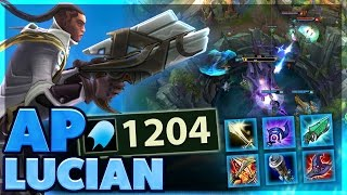 BEST BARON STEAL | I DO SOO MUCH DAMAGE | FULL AP LUCIAN CARRY SUPPORT | BunnyFuFuu