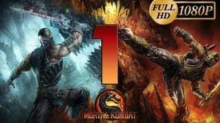 Mortal Kombat 9 Komplete Edition - Gameplay PC Parte 1 | Modo Historia Prologo Capitulo 1 Jonny Cage| Walkthrough 1080p PC/Xbox360/PS3