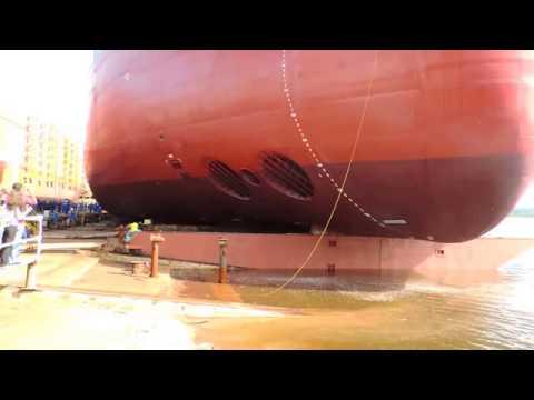 Lançamento de Navio TUCUNARE no Estaleiro EISA =D