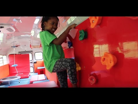 Monkey Movers Gym Bus For Kids | Introduction