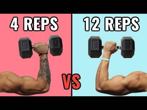 Low Reps vs High Reps for Muscle Growth
