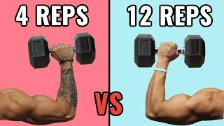 Low Reps vs High Reps for Muscle Growth thumbnail