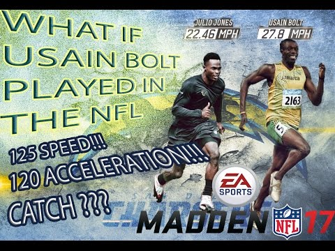 125 SPEED Usain BOLT  In The NFL?!