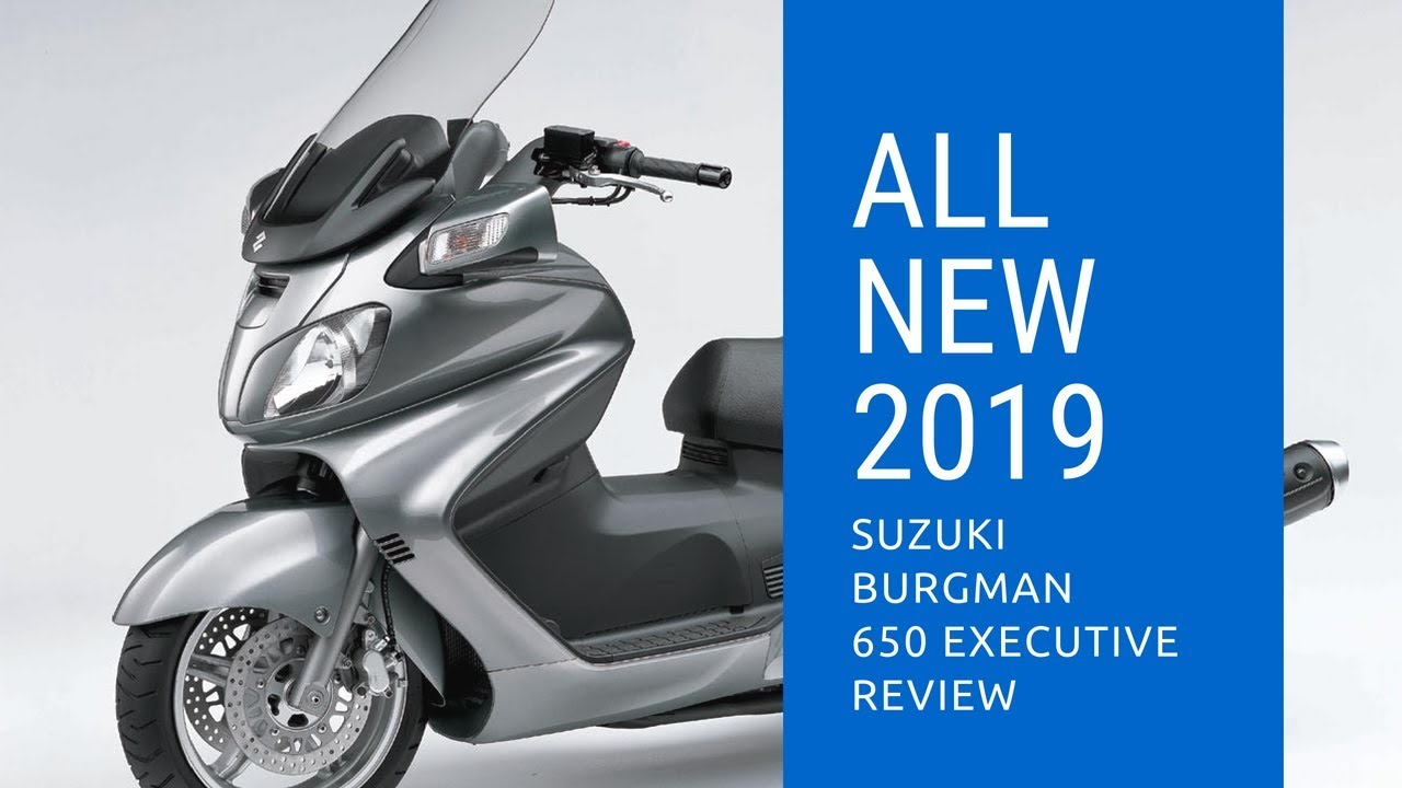 2019 suzuki burgman 650 abs executive youtube. Black Bedroom Furniture Sets. Home Design Ideas