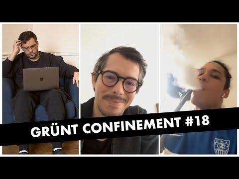 Youtube: Grünt Confinement #18 avec Hatik, Thomas Porcher et Tommaso Melilli