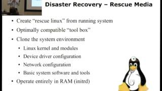 OSC15 - Gratien D'haese - Relax-and-Recover simplifies Linux Disaster Recovery