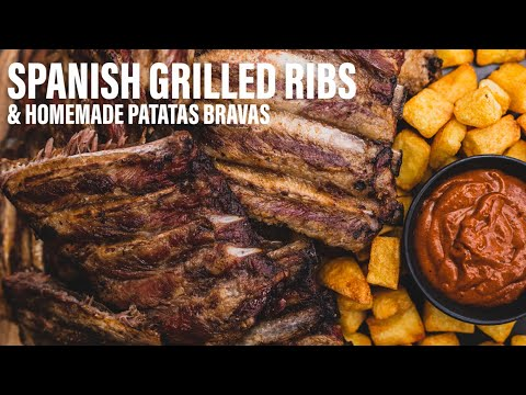 spanish-grilled-ribs-unique-grilling-method