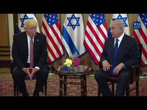 President Trump Meets with Prime Minister Benjamin Netanyahu of Israel