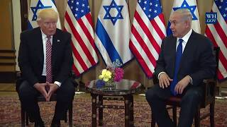 From youtube.com: President Trump and Prime Minister Benjamin Netanyahu of Israel {MID-239177}