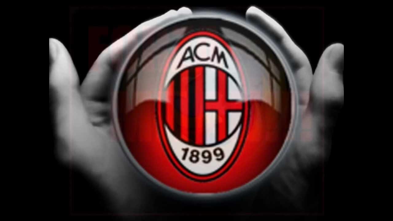 The Logo Of Ac Milan Logo Ac Milan Youtube