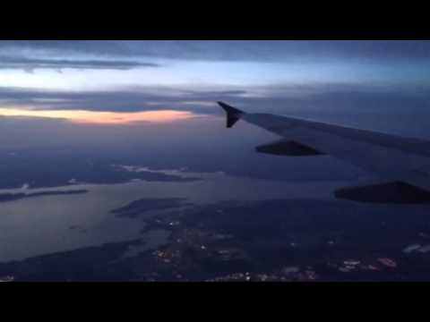 Magnificent Sunset View flying to Kentucky