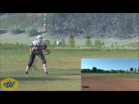 Ashley Zamora's Softball Skills Video  2017 OF2B  USA Athletics 16UZamora