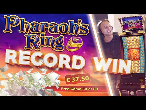 MUST SEE!!!! RECORD WIN ON PHARAOHS RING - BIGGEST COMEBACK ON YOUTUBE!! (Casino - High limit)