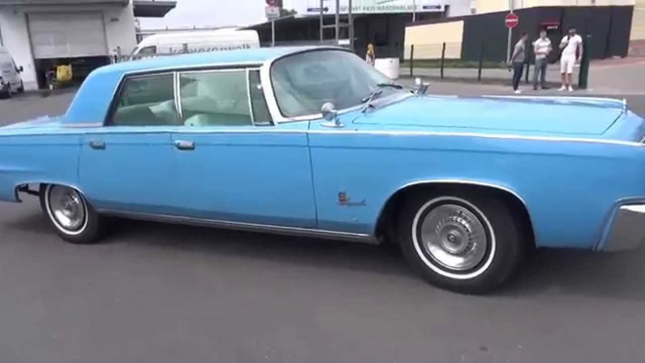 1964 chrysler imperial crown start up exhaust and. Black Bedroom Furniture Sets. Home Design Ideas