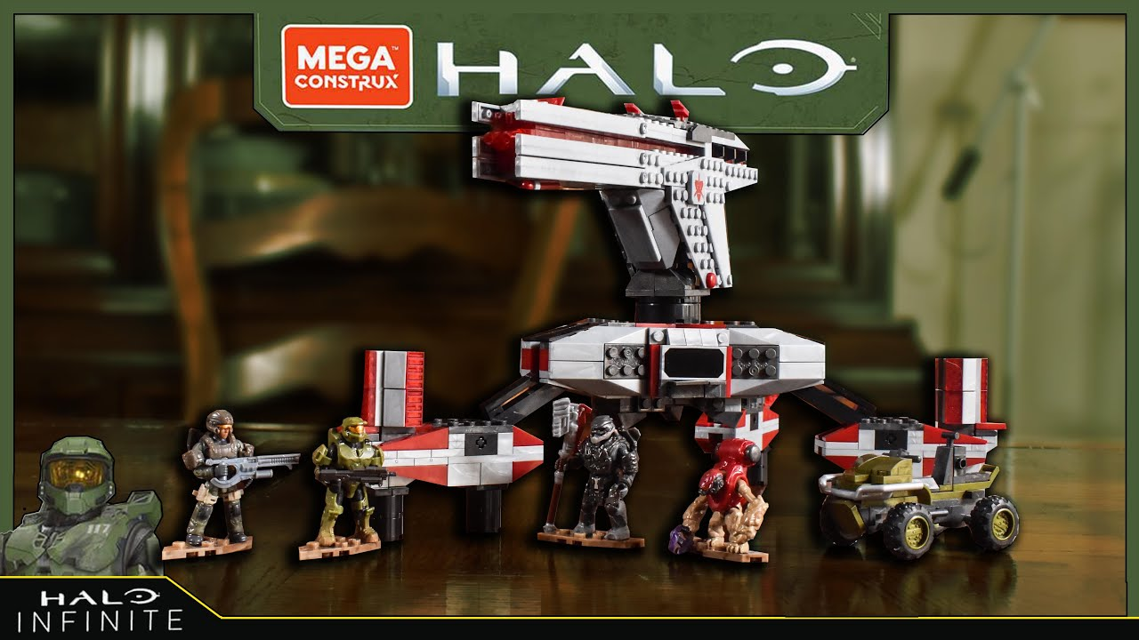 Download Halo Mega Construx Defense Point Showdown Review | El tio pixel