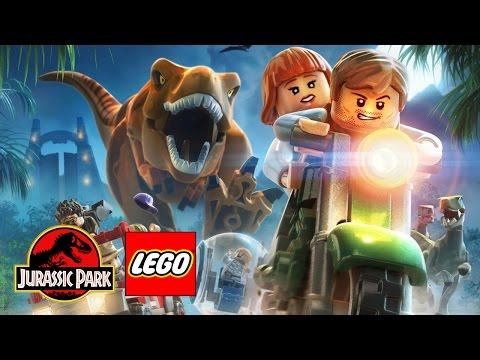 Лего: охотники на динозавров!!!!