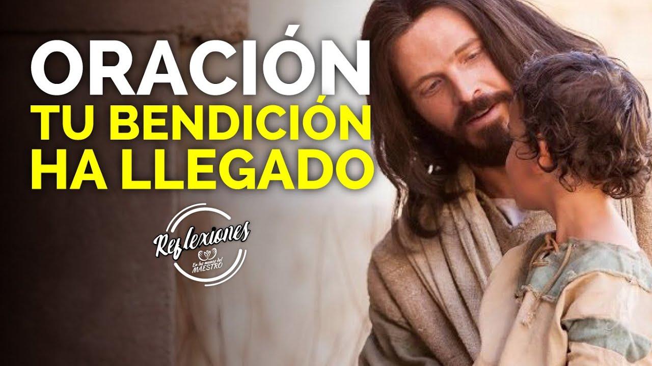 """🙏 ORACIÓN DE LA MAÑANA ☀️ DIOS TE DICE HOY:""""𝗘𝗟 𝗠𝗢𝗠𝗘𝗡𝗧𝗢 𝗗𝗘 𝗧𝗨 𝗕𝗘𝗡𝗗𝗜𝗖𝗜𝗢𝗡 𝗛𝗔 𝗟𝗟𝗘𝗚𝗔𝗗𝗢, 𝗬𝗢 𝗧𝗘 𝗕𝗘𝗡𝗗𝗘𝗖𝗜𝗥𝗘"""""""
