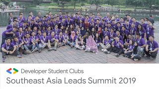 DSC South East Asia Leads Summit 2019