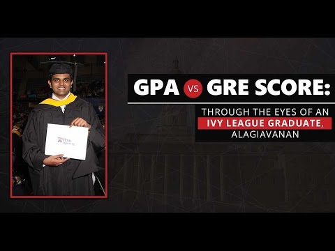 GREedge Guest Talk : GPA vs GRE Score - Ivy league graduate explains
