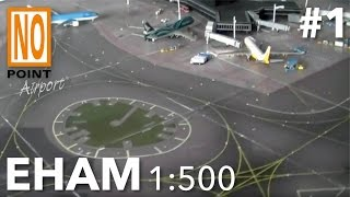 Model Airport EHAM Amsterdam 'look-a-like' - customer movie