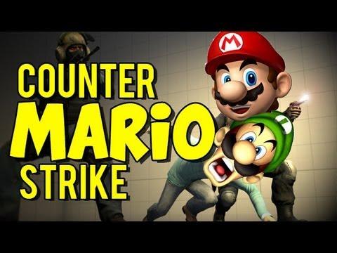 Funny Counter Strike Moments Csgo Mario Survival Mini Games Youtube