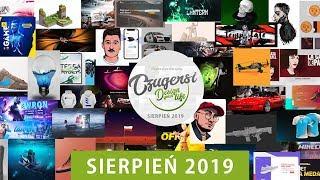 Projekty moich Widzów | Przegląd Grupy Czugersi SIERPIEŃ 2019