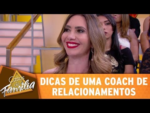 Dicas De Uma Coach Em Relacionamentos | Casos De Família (18/10/17)