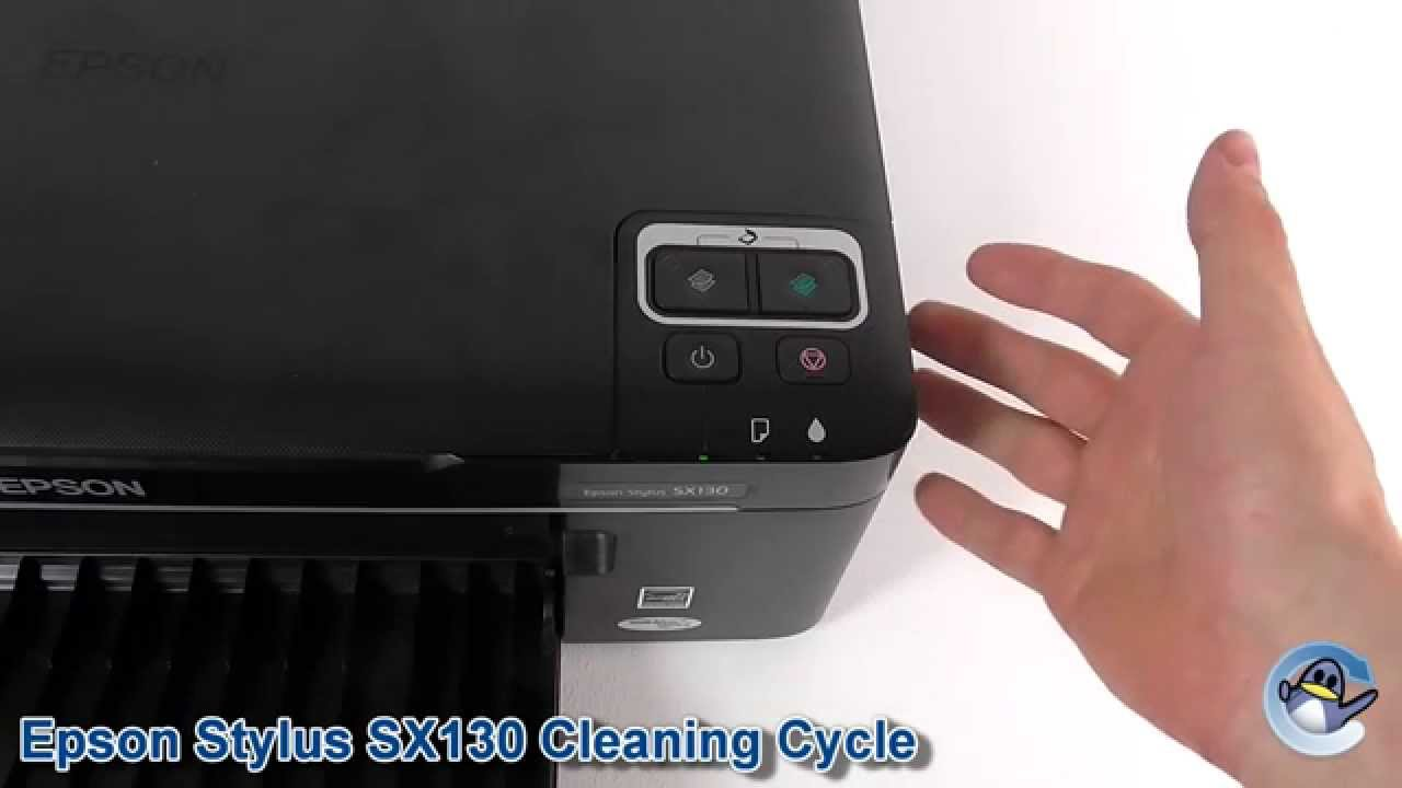 Epson Stylus Sx130 How To Do Printhead Cleaning Cycles