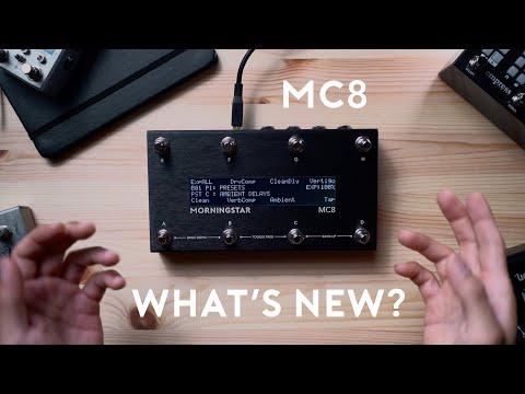 Morningstar MC8 - What's New?