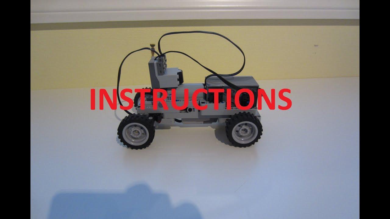 Lego Mini Rc Technic Car Instructions Youtube