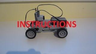LEGO Mini RC Technic Car Instructions