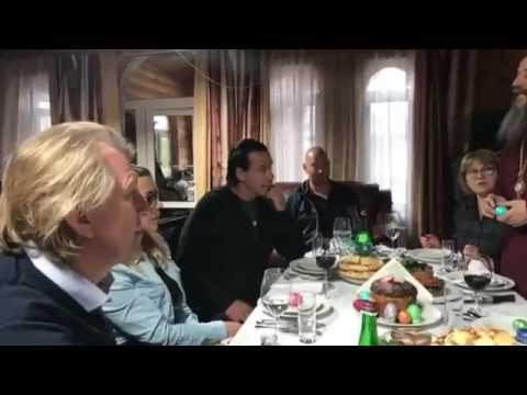 Rammstein Till Lindemann and Steven Segal (Happy Easter) 2017 part 2 (AM)