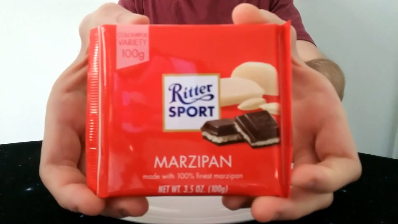 Ritter Sport Marzipan Review Youtube