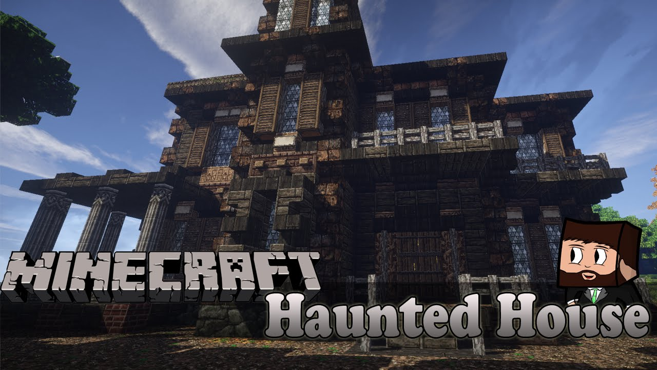 haunted house minecraft builds