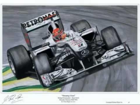 F1 Motorsport Limited Edition Art Prints