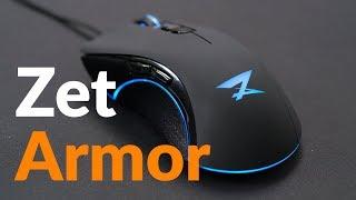 ЛУЧШАЯ ИГРОВАЯ МЫШЬ до 1500 рублей?! Обзор ZET Armor от DNS