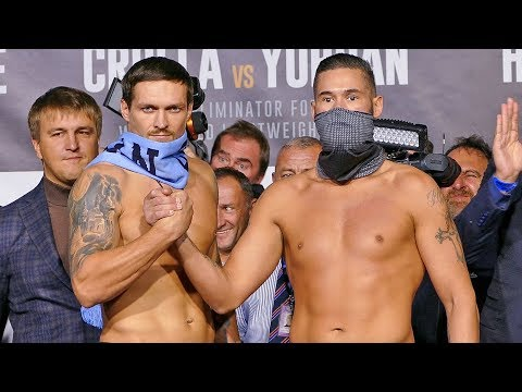 Oleksandr Usyk Vs Tony Bellew LIVE WEIGH IN & UNDERCARD Weigh In