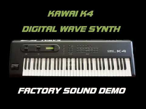 KAWAI K4 Factory sounds demo
