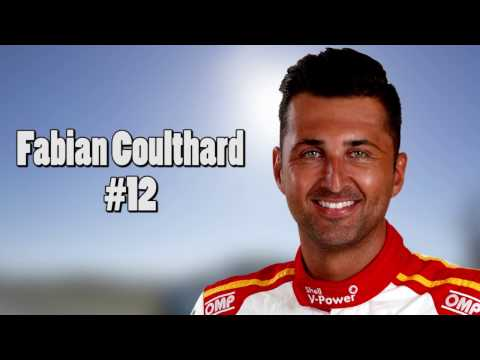 2017 V8 Supercars Drivers' Biggest Crashes