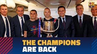 SEVILLA 0 - BARA 5  Trip to Barcelona after Copa del Rey final