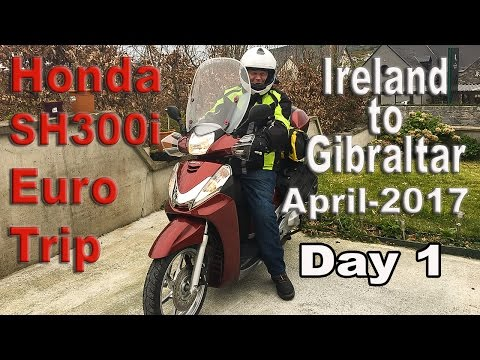 Ireland to Gibraltar Motorcycle trip_Day 1