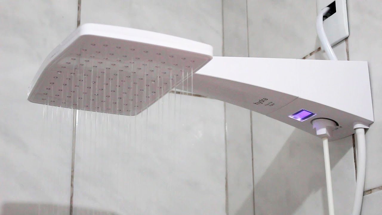 Ducha.Instalacao E Teste Ducha Hydra Corona Polo Plus Quadrata Eletronica Visor Digital