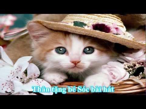 Chú mèo con (nhạc thiếu nhi) - cute little cat song [odkhi]