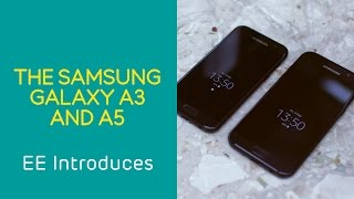 EE Introduces: a first look at the Samsung Galaxy A Series.